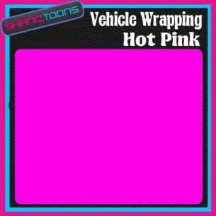 2M X 1520mm VEHICLE CAR WRAP HOT PINK GLOSS CAST